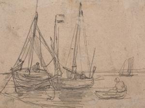 Barques et pêcheurs
