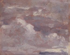 Ciel brun et gris