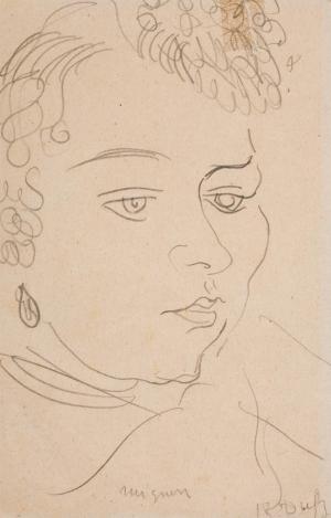 Mignon , Portrait de femme (titre attribué)