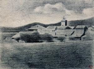 Village et clocher